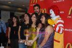 John Abraham and Pakhi at McDonalds to promote Jhootha Hi Sahi in Fun Republic on 14th Oct 2010 (43).JPG