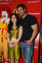 John Abraham and Pakhi at McDonalds to promote Jhootha Hi Sahi in Fun Republic on 14th Oct 2010 (50).JPG