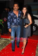 Sunil Shetty, Mana Shetty at Shailendra Singh_s bday bash in Lower Parel on 17th Oct 2010 (5).JPG
