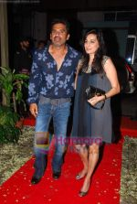 Sunil Shetty, Mana Shetty at Shailendra Singh_s bday bash in Lower Parel on 17th Oct 2010 (59).JPG