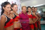 Kingfisher calendar girls at Talwalkars in Mumbai Central on 18th Oct 2010 (5).JPG