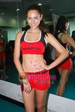 Kingfisher calendar girls at Talwalkars in Mumbai Central on 18th Oct 2010 (74).JPG