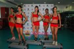 Kingfisher calendar girls at Talwalkars in Mumbai Central on 18th Oct 2010 (92).JPG