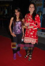 Juhi Babbar, Shweta Pandit at Namrata Gujral_s 1 A Minute film on breast cancer premiere in PVR on 27th Oct 2010 (34).JPG