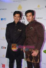 Ayaan and Amaan Ali Khan at Aamby Valley India Bridal week DAY 3-1 on 31st Oct 2010 (12).JPG