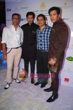 Ayaan and Amaan Ali Khan at Aamby Valley India Bridal week DAY 3-1 on 31st Oct 2010 (8).JPG