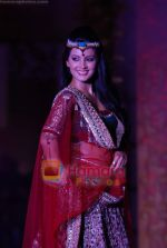 Geeta Basra walks the ramp for Sonia Mehra at Aamby Valley India Bridal Week day 5 on 2nd Nov 2010 (4).JPG