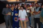 Amol Gupte, Neha Dhupia, Rajat Kapoor, Kailash Kher, Sanjay Mishra at Phas Gaye Obama music launch in J W Marriott on 8th Nov 2010 (4).JPG