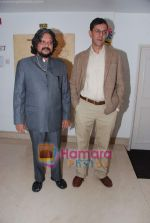 Amol Gupte, Rajat Kapoor at Phas Gaye Obama music launch in J W Marriott on 8th Nov 2010 (38).JPG