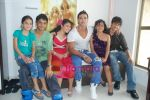 Saahil Khan invites his Facebook fans over for lunch at his home in Andheri on 14th Nov 2010 (36).JPG