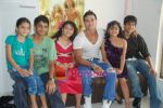Saahil Khan invites his Facebook fans over for lunch at his home in Andheri on 14th Nov 2010 (37).JPG