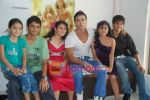 Saahil Khan invites his Facebook fans over for lunch at his home in Andheri on 14th Nov 2010 (38).JPG