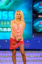 Pamela Anderson on the sets of Bigg Boss House in Mumbai on 19th Nov 2010 (2).JPG