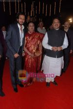Ritesh Deshmukh, Vilasrao Deshmukh at Nitish Rane_s wedding reception in Mahalaxmi Race Course on 28th Nov 2010 (7).JPG