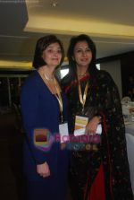 Poonam Dhillon with Cherie Blair at Women_s Means Business conference in Hyatt Regency on 8th Dec 2010 (16).JPG