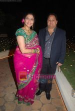 Kanchan Adhikari at Urvee Adhikari_s wedding reception in Taj Land_s End on 11th Dec 2010 (9).JPG