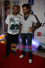 Vishal Shekhar at Tees Maar Khan charity screening in Metro on 23rd Dec 2010 (2).JPG