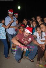 John Abraham spend christmas with children of St Catherines in Andheri on 25th Dec 2010 (5).JPG