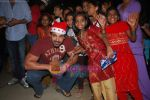 John Abraham spend christmas with children of St Catherines in Andheri on 25th Dec 2010 (6).JPG