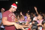 John Abraham spend christmas with children of St Catherines in Andheri on 25th Dec 2010 (7).JPG