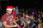 John Abraham spend christmas with children of St Catherines in Andheri on 25th Dec 2010 (8).JPG