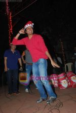 Ritesh Deshmukh spend christmas with children of St Catherines in Andheri on 25th Dec 2010 (3).JPG