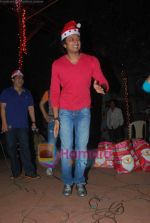 Ritesh Deshmukh spend christmas with children of St Catherines in Andheri on 25th Dec 2010 (4).JPG