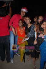 Ritesh Deshmukh spend christmas with children of St Catherines in Andheri on 25th Dec 2010 (5).JPG