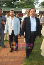 nitish and narayan rane at Mid-day race in Mahalaxmi Race Course on 26th Dec 2010.JPG