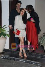 Amisha patel at Farah Ali Khan_s bday bash in Juhu on 27th Dec 2010JPG (9).JPG