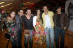 Harmeet Gulzar, Sunaina Gulzar, Manmeet Gulzar, Karishma Modi Gulzar, Rajiv Paul at Isi Life Mein special screening in Cinemax on 27th Dec 2010 (2).JPG