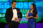 Rani and Salman khan on the sets of Big Boss on 27th Dec 2010.JPG