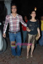 mohammad and lucky at Farah Ali Khan_s bday bash in Juhu on 27th Dec 2010 (2).JPG