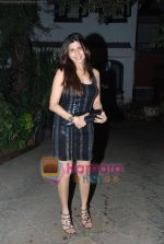 pauloma sanghvi at Farah Ali Khan_s bday bash in Juhu on 27th Dec 2010.JPG