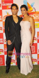 Deepika Padukone, Siddharth Mallya at THE GRAND FINALE of the Hunt for Kingfisher Calendar Girl 2011 .JPG
