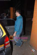 Faizal Khan, Aamir Khan, Kiran Rao snapped on occasion of their anniversary in Bandra on 28th Dec 2010 (3).JPG