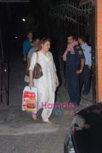 Faizal Khan, Aamir Khan, Kiran Rao snapped on occasion of their anniversary in Bandra on 28th Dec 2010 (7).JPG