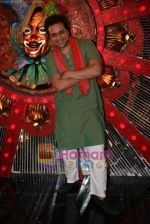 Krushna at Comedy Circus new season on location in Andheri on 28th Dec 2010 (3).JPG