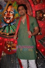 Krushna at Comedy Circus new season on location in Andheri on 28th Dec 2010 (5).JPG