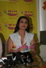 Rani Mukherjee at Radio Mirchi in Lower Parel, Mumbai on 28th Dec 2010 (14).JPG