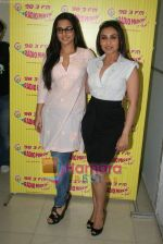 Rani Mukherjee, Vidya Balan at Radio Mirchi in Lower Parel, Mumbai on 28th Dec 2010 (36).JPG
