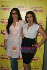 Rani Mukherjee, Vidya Balan at Radio Mirchi in Lower Parel, Mumbai on 28th Dec 2010 (40).JPG