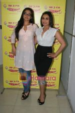 Rani Mukherjee, Vidya Balan at Radio Mirchi in Lower Parel, Mumbai on 28th Dec 2010 (42).JPG