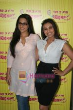 Rani Mukherjee, Vidya Balan at Radio Mirchi in Lower Parel, Mumbai on 28th Dec 2010 (45).JPG