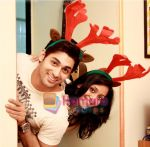 ruslaan mumtaj with a friend_at Smilie Suri_s Christmas Party in Shaheer Sheikh�s Place on 30th Dec 2010.JPG
