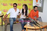 Akshay Kumar, Anushka Sharma unveil Patiala House music on Radio Mirchi in Mumbai on 3rd Jan 2011.JPG