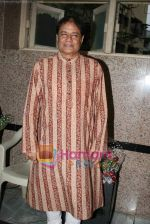 Anup Jalota launches Ram Shankar_s album in Isckon on 4th Jan 2011 (9).JPG