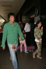 Chunky Pandey spotted at Airport in International Airport, Mumbai on 3rd Jan 2011 (3).JPG