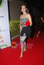 Dia Mirza at Overdrive Awards in Taj Land_s End on 4th Jan 2011 (6).JPG