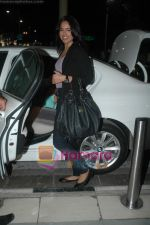 Sameera Reddy snapped at the airport on 7th Jan 2011 (6).JPG